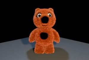 Teddy the teddy bear